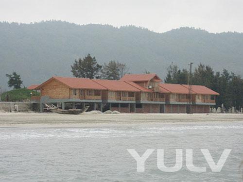 海边木屋别墅外景