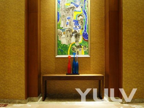 酒店大堂设计图手绘展示